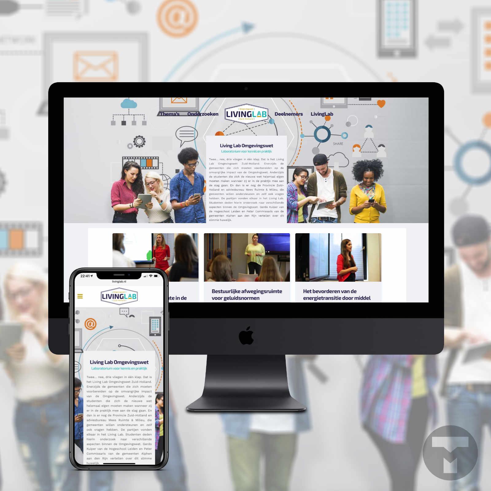 Website voor Hogeschool Leiden