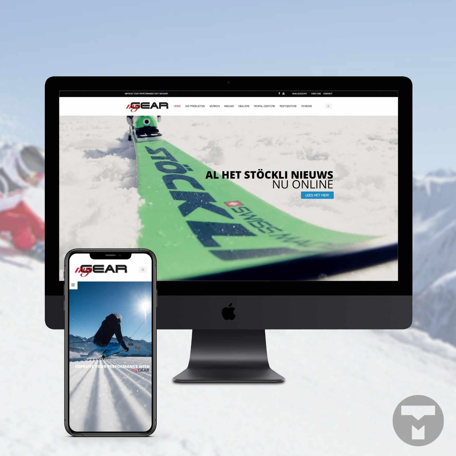 Website voor MyGear