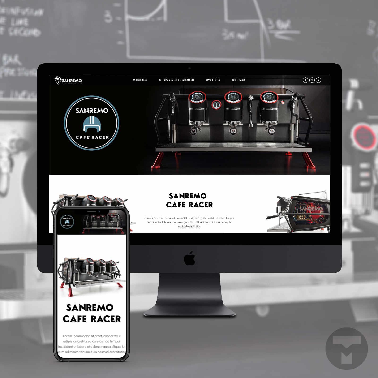 Website voor Sanremo Nederland