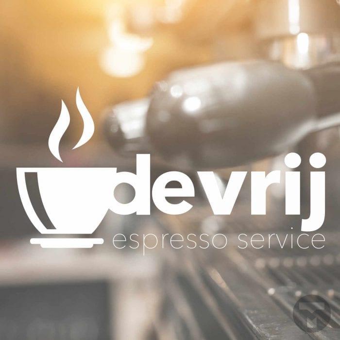 Logo voor De Vrij Espresso Service